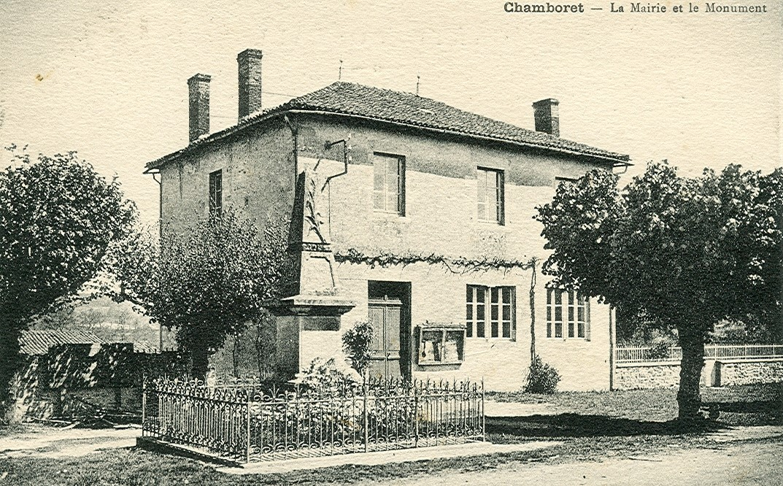 Mairie de Chamborêt